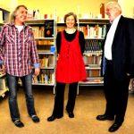 liTrio: Martin Heberlein, Ulrike Schäfer und Hanns Peter Zwißler. Foto: Matthias Lauerbach.