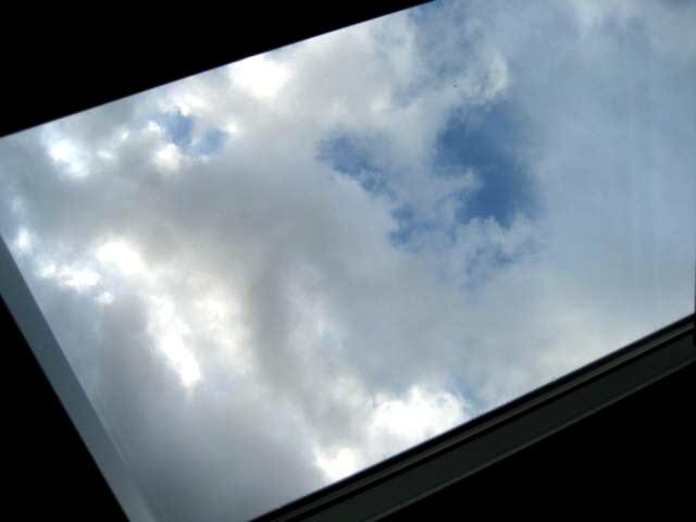 Soltauer Himmel-Blick unterm Dach