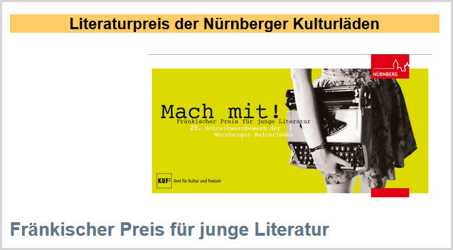 Preis der Nürnberger Kulturläden