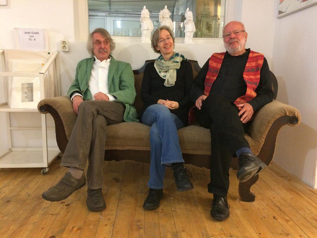 liTrio: Martin Heberlein, Ulrike Schäfer, Hanns Peter Zwißler
