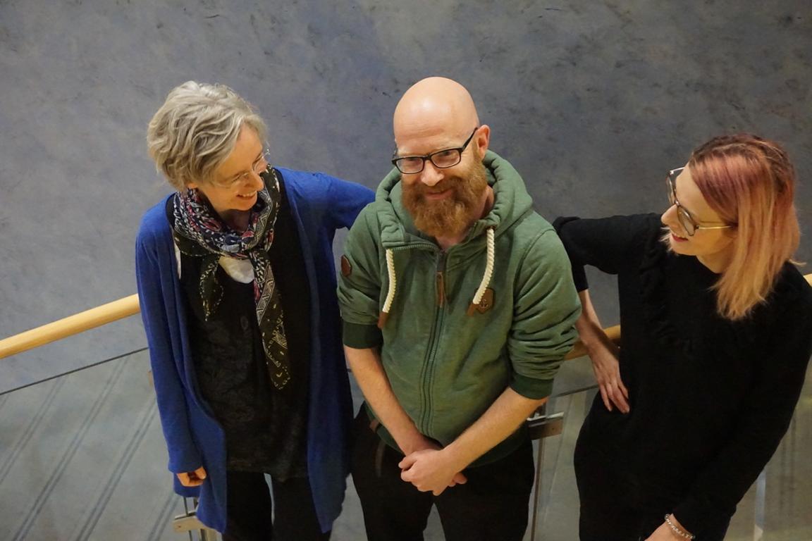 Lesebühne mit Ulrike Schäfer, Tobias Heyel und Pauline Füg